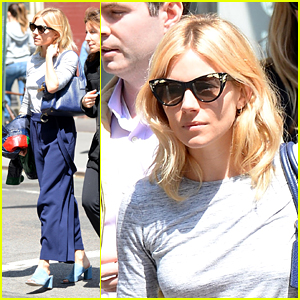 Sienna Miller Rocks Vintage Vibe on NYC Shopping Trip