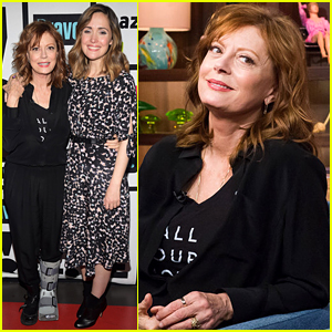 Susan Sarandon Explains Her Twitter Feud with Debra Messing