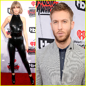 Taylor Swift & Calvin Harris Walk iHeartRadio Music Awards 2016 Red Carpet Separately