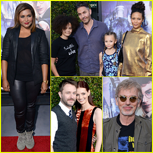Thandie Newton Makes It A Family Affair At 'Wizarding World Of Harry Potter' Opening!