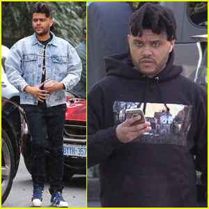 The Weeknd Hits the Studio With Some Friends