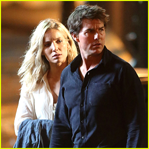Tom Cruise Spotted on 'The Mummy' Set with Annabelle Wallis