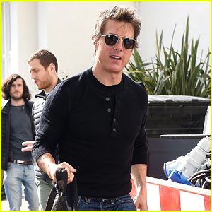 Tom Cruise Steps Out on Daughter Suri's 10th Birthday!