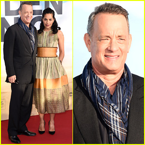 Tom Hanks, Sarita Choudhury & More Premiere 'Hologram for the King' in Germany