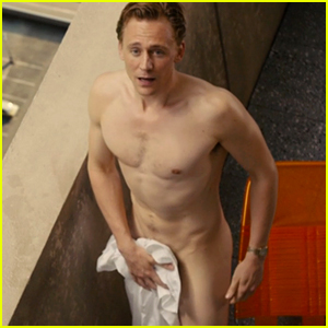 Tom Hiddleston Strips Down Completely in 'High-Rise' Clip!