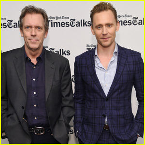 Tom Hiddleston & Hugh Laurie Talk 'The Night Manager' at TimesTalks