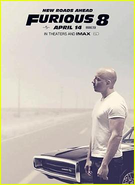 Vin Diesel Looks Somber on New 'Furious 8' Poster