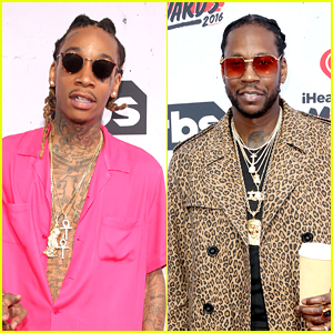 Wiz Khalifa & 2 Chainz Present at iHeartRadio Music Awards