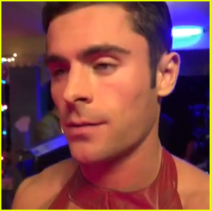 Zac Efron Wears Dress in New 'Neighbors 2' Promo - Watch Now!