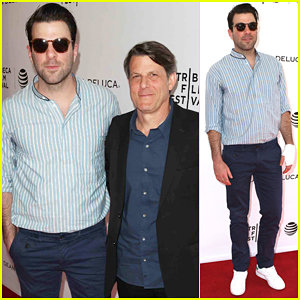 Zachary Quinto Helps Leonard Nimoy's Son Adam Premiere 'For The Love Of Spock'!