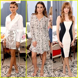 Zendaya Celebrated at 'Glamour' Game Changers Lunch