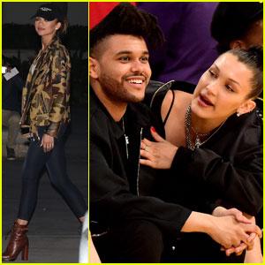 The Weeknd, Zendaya, & More Attend Kobe Bryant's Final Game
