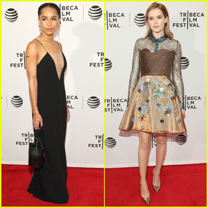 Zoe Kravitz & Zoey Deutch Premiere 'Vincent N Roxxy' at Tribeca 2016