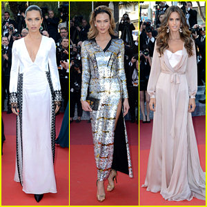 Adriana Lima, Karlie Kloss & Izabel Goulart Glam Up 'Julieta' Red Carpet at Cannes 2016