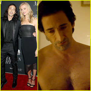Adrien Brody Goes Shirtless in 'Manhattan Night' Clip (Exclusive)