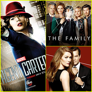 'Agent Carter' & 'The Family' Canceled By ABC, 'The Catch' Renewed for Season 2