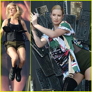 Ellie Goulding, Alessia Cara & Iggy Azalea Play Radio 1's Big Weekend Day #2