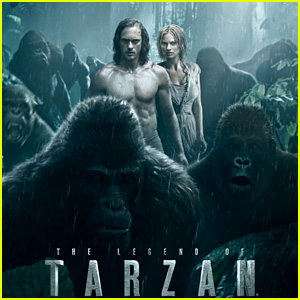 Alexander Skarsgard Shows His Six-Pack in New 'Legend of Tarzan' Poster
