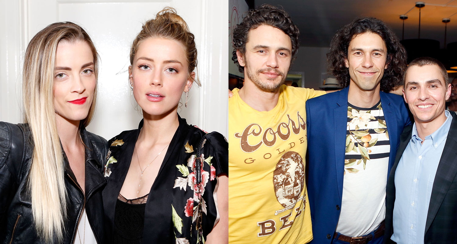 Amber Heard Joins James & Dave Franco at Their Brother Tom ...