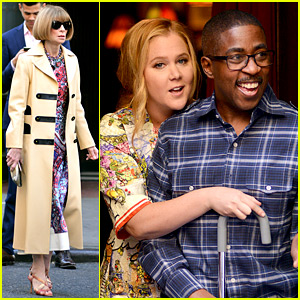Amy Schumer Films 'Inside' Segment with Anna Wintour!
