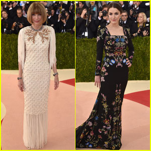 Anna Wintour Poses With Daughter Bee Shaffer at Met Gala 2016