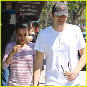 Ashton Kutcher & Mila Kunis Have a Day Date, New 'Bad Moms' Trailer Debuts!