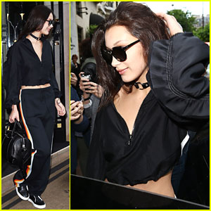 Bella Hadid Says Au Revoir To France On Her Way To Australia