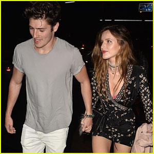 Bella Thorne Helps Gregg Sulkin Celebrate 24th Birthday Early