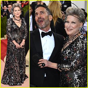 Bette Midler & Marc Jacobs Team Up for Met Gala 2016