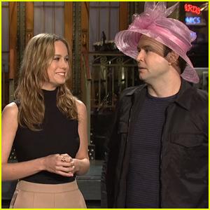 Brie Larson & Taran Killam Get Ready For Kentucky Derby in 'SNL' Promo