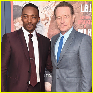 Bryan Cranston & Anthony Mackie Team Up At 'All The Way' Premiere - Watch Trailer!
