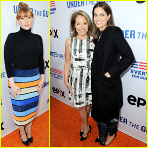 Bryce Dallas Howard & Amanda Peet Support Katie Couric At 'Under The Gun' Premiere!