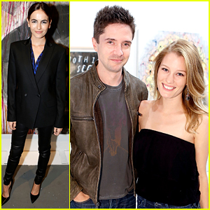 Camilla Belle Supports Art of Elysium's Pieces of Heaven with Topher Grace