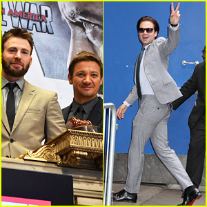 'Captain America: Civil War' Stars Promote Movie Ahead of Weekend Debut!
