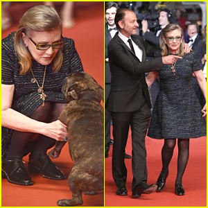 Carrie Fisher's Dog Gary Steals Spotlight at Cannes 2016
