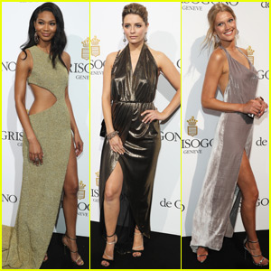 Chanel Iman Gets Glam at Cannes Party