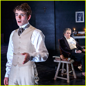 Charlie Rowe Stars in BAM's Play 'The Judas Kiss' (Photos)