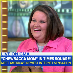 Chewbacca Mom Candace Payne Gives Interview on 'GMA'
