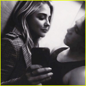 Chloe Moretz & Brooklyn Beckham Look So Cute Together in New Selfie