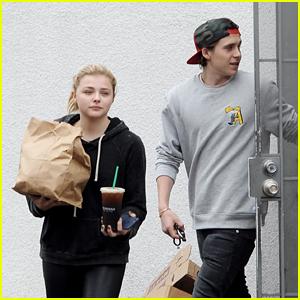 Chloe Moretz & Brooklyn Beckham Go for Takeout