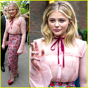 Chloe Moretz Talks Up 'Neighbors 2' on 'The Late Show'