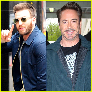 Robert Downey, Jr. Nursed Chris Evans' 'Captain America' Injury!
