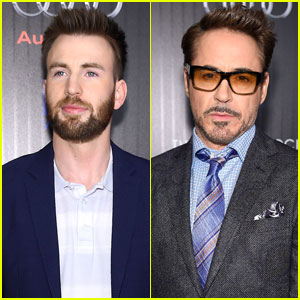 Chris Evans & Robert Downey Jr. Screen 'Captain America: Civil War' in NYC
