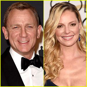 Daniel Craig & Katherine Heigl to Star in NASCAR Movie