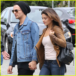 Louis Tomlinson & Danielle Campbell Head To Lunch With Friends in LA