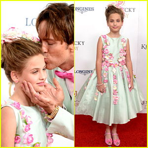 Anna Nicole Smith's Daughter Dannielynn Birkhead, 9, Looks All Grown Up at Kentucky Derby
