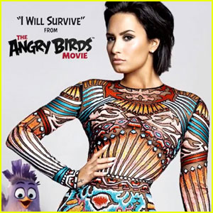 Demi Lovato Belts Out 'I Will Survive' for 'Angry Birds Movie' - Listen HERE!