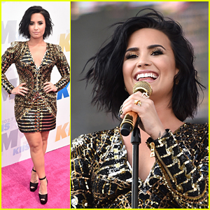 Demi Lovato Is Balmain Bombshell at Wango Tango 2016