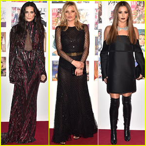 Demi Moore, Kate Moss, & More Celebrate at Vogue 100 Gala!