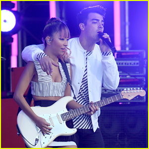 DNCE Shows Stripes for 'Jimmy Kimmel Live!' Performance